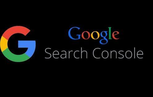 Google Search Console logo header