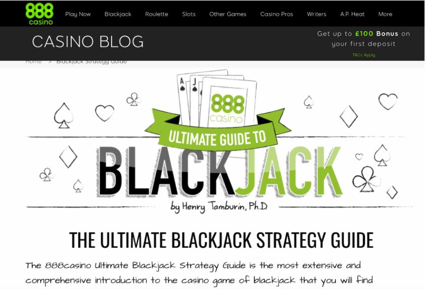 blackjack ultimate guide example