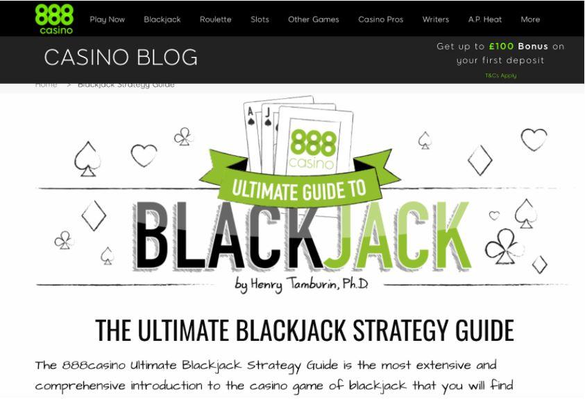 blackjack ultimate guide example