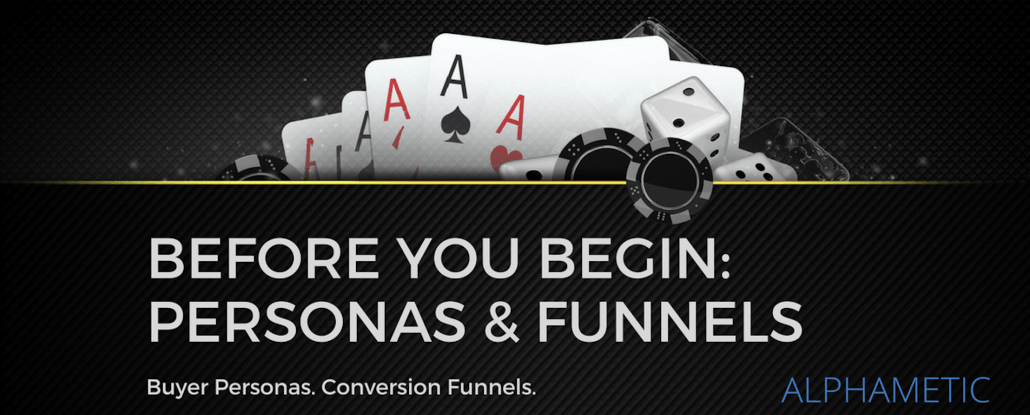 casino buyer personas conversion funnels
