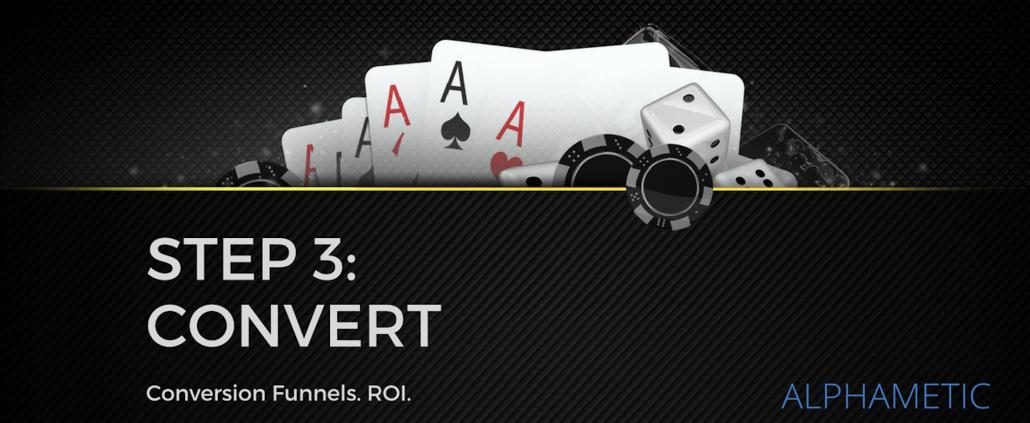 casino conversion funnel roi