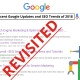google updates seo 2018 revisited