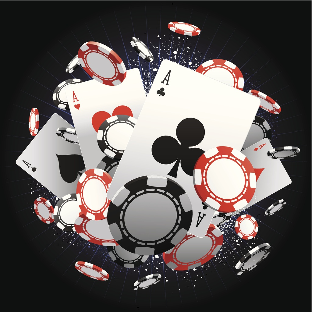 poker ace chips
