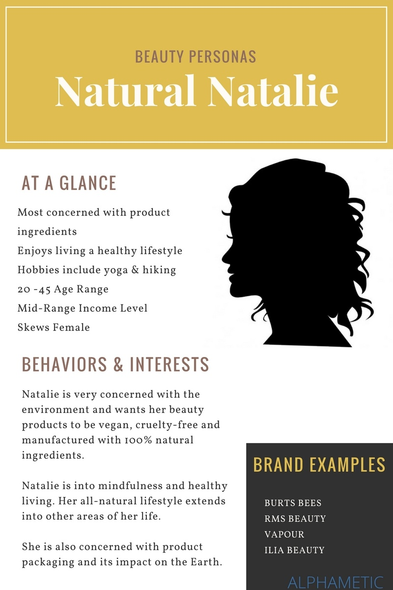 natural natalie beauty persona