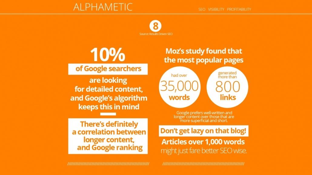 seo statistic alphametic
