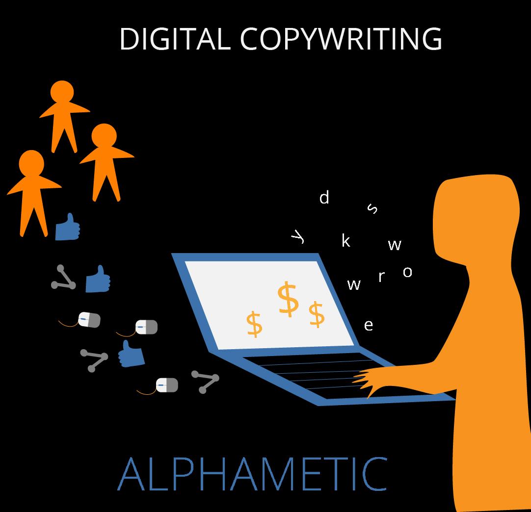 Digital Copywriting Meets SEO | Alphametic Content Studio