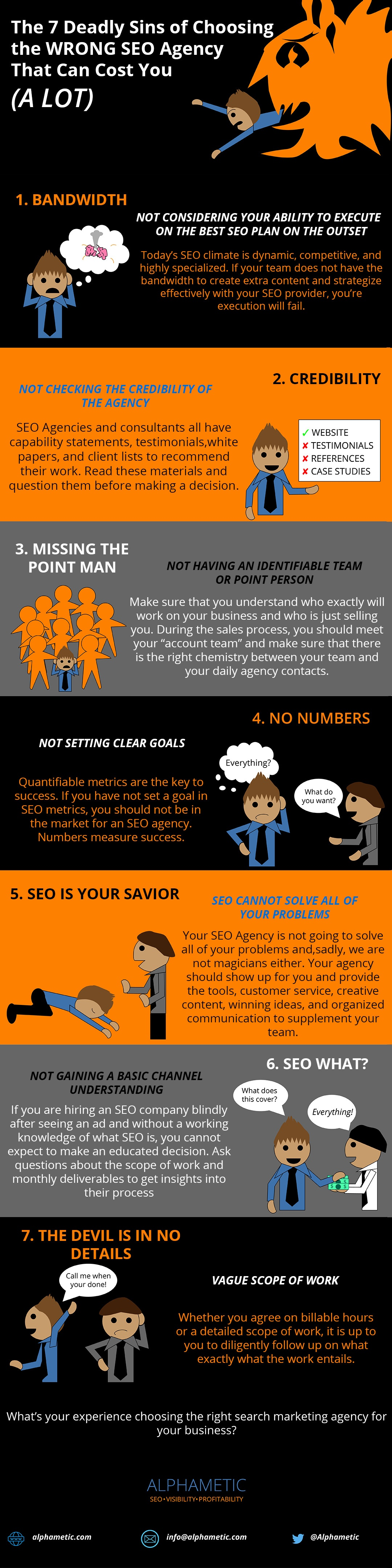 choosing seo agency infographic alphametic