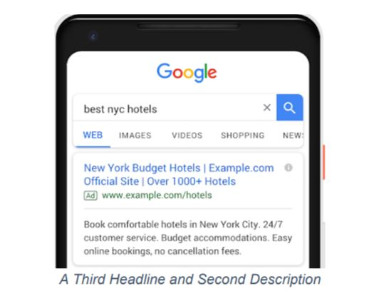 google ads 3rd headline example
