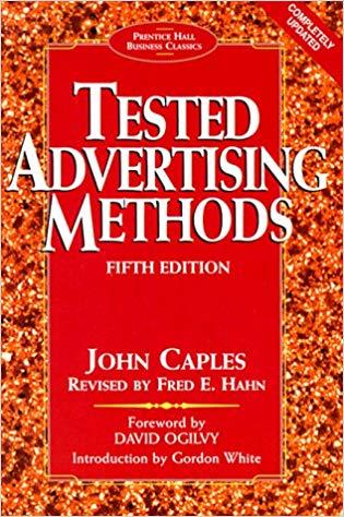 Tested Advertising Methods book john caples