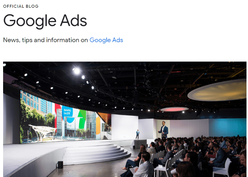 google ads announcements