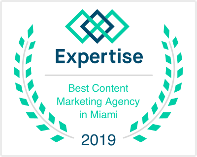 expertise best content marketing agency award