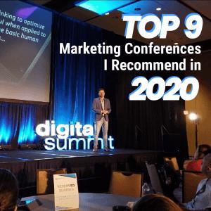 best digital marketing conferences 2020