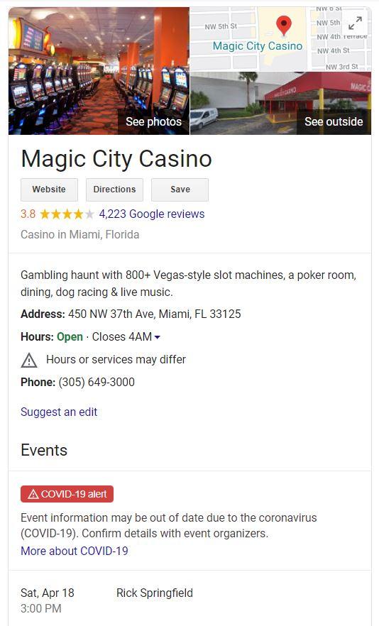 magic city casino events gmb