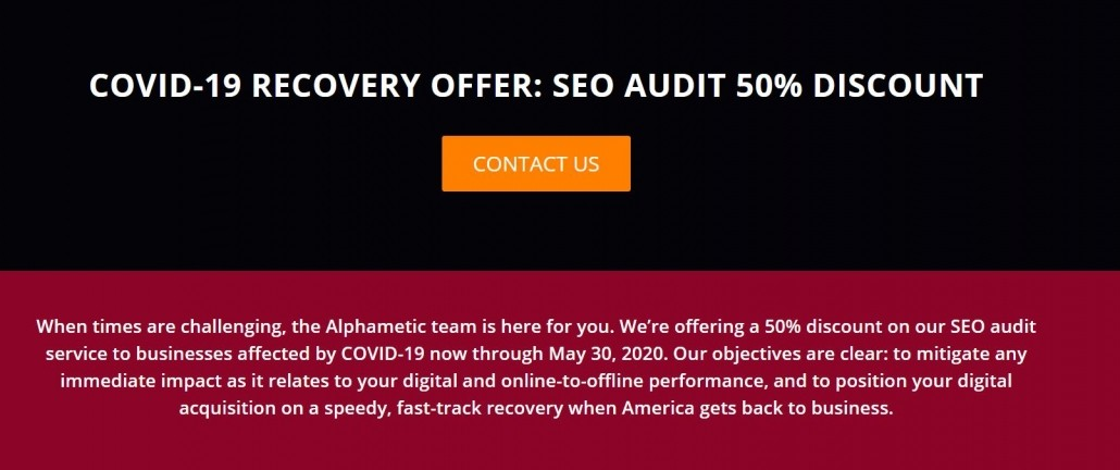seo audit discount alphametic