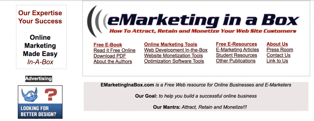 emarketing in a box