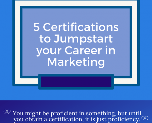 Certifications to Jumpstart your Marketing Career